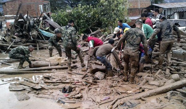 Colombia Landslide Death Toll Rises to 254