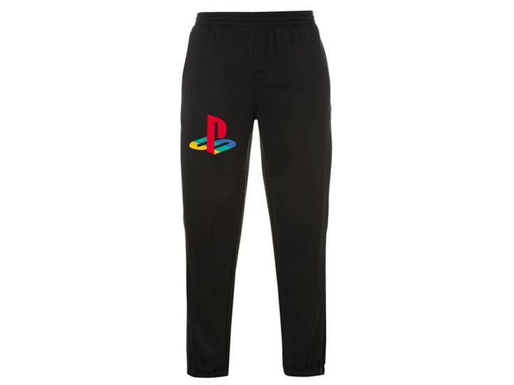 PlayStation Console Original Video Game Logo Joggers/Tracksuit Bottoms