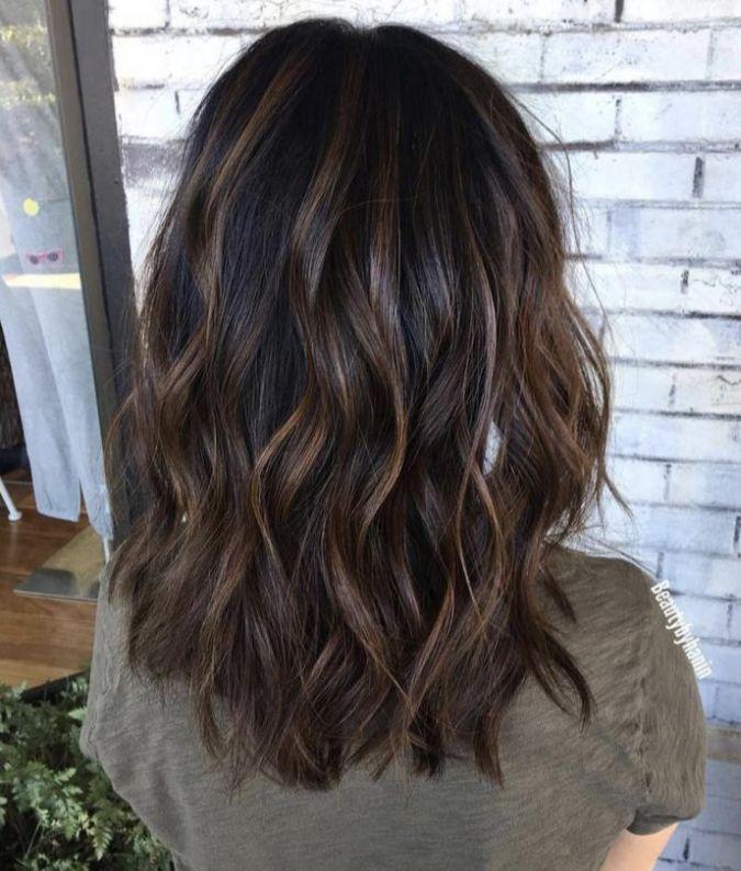 Yissyknows Haarschnitt Frisuren Lange Haare Braun Schulterlange Haare Glatt