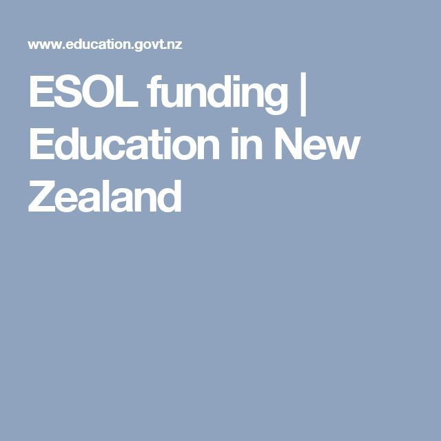 ESOL funding | Education in New Zealand