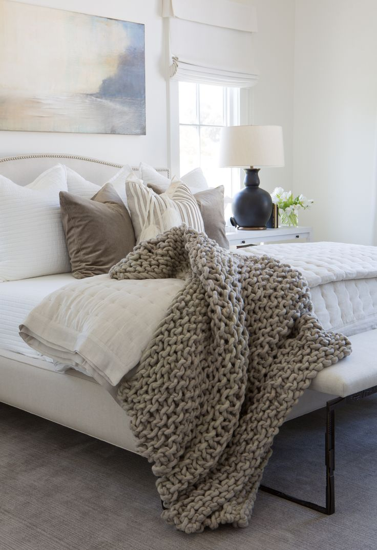 white and bright  taupe bedroom bedding master bedroom