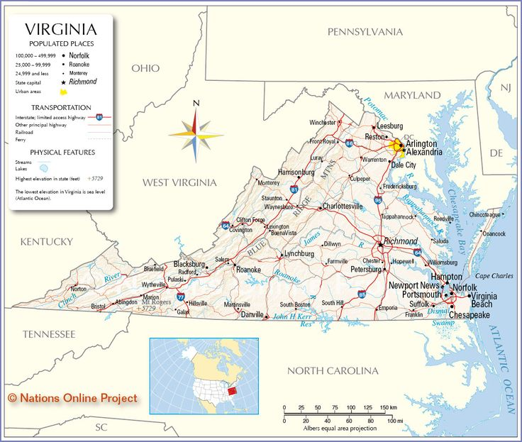Best Virginia Images On Pinterest Virginia Cities And Google - Virginia map usa