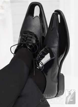 Black 'Manhattan' Tuxedo Shoes.. these go perfectly with the maserati. $130 with shipping