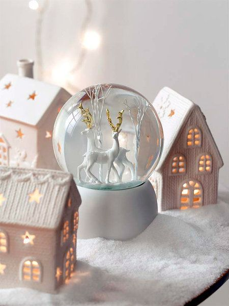 Tu casa decorada para navidad navidad snow and - Decorar estilo nordico ...