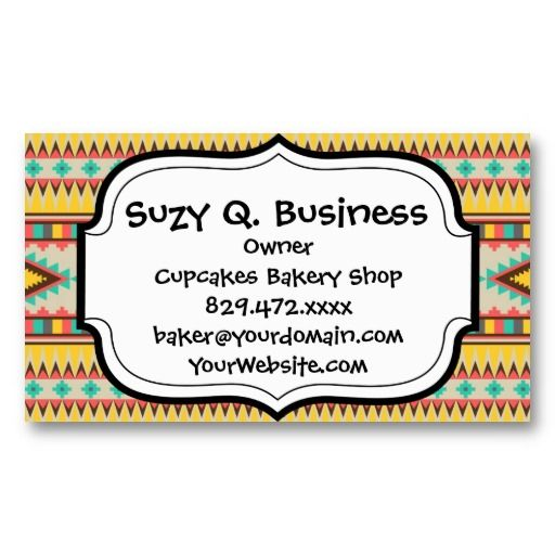 19 best native american business cards images on pinterest colorful aztec tribal native american diamonds business card templates colourmoves Choice Image