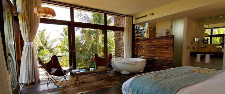 5 hoteles para quedarte en Tulum según tu personalidad. Una de nuestras expertas se lanzó al sureste mexicano para registrar los mejores espacios para alojarse en este paraíso disfrutando de las más asombrosas instalaciones en contacto con la naturaleza.