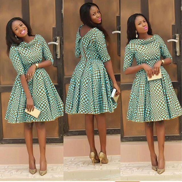Best Stylish Ankara Styles for Church 2019 #afrikanischehochzeiten ...