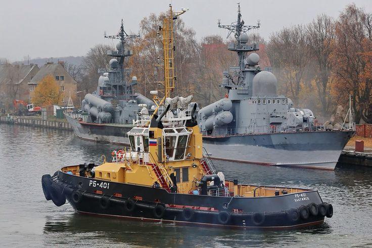 Вспомогательный флот Каспийской флотилии получит два новых рейдовых буксира.