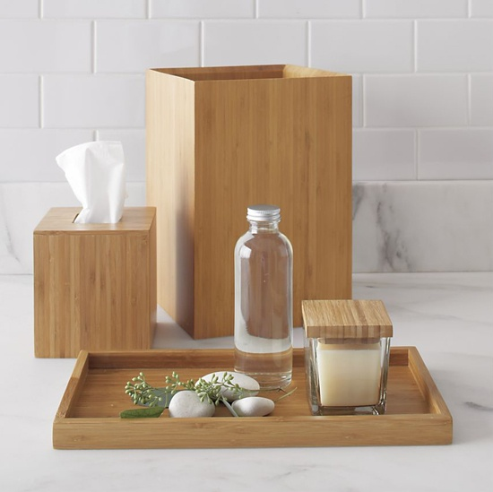 25 best images about bamboo on pinterest contemporary for Bamboo bathroom decorating ideas