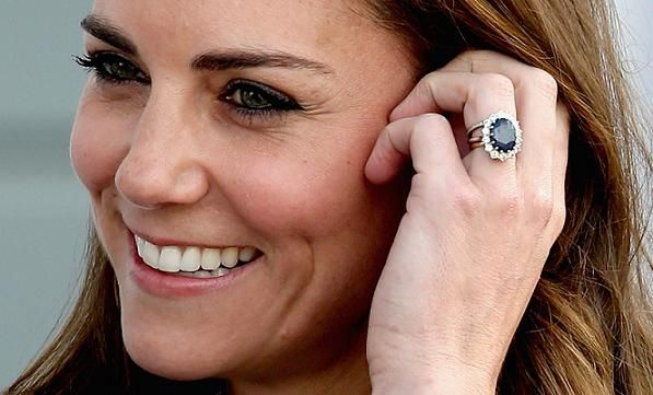 Kate Middleton Engagement Ring