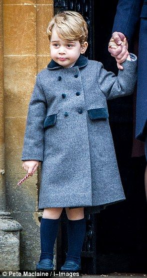 Prince George and Princess Charlotte join their parents for church in Bucklebury   Daily Mail Online