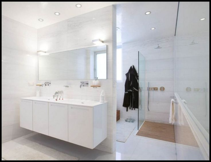 bathroom floating vanity furniture with undermount sinks in fresh white bathroom feat large shower room amusing