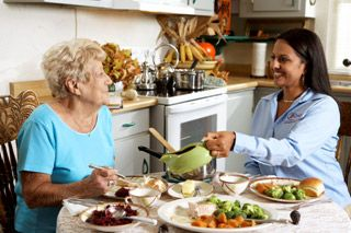 Meal Preparation - Our Comfort Keepers prepare hot, delicious, and nutritious meals, encouraging clients to help with preparation according to their ability. Many seniors do not have the opportunity to eat a well-balanced meal, so this service helps seniors get the nutrition they need to enjoy healthier living.