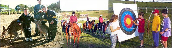 Mornington Peninsula Horse Riding & Wild Life Park - to do on our 2 day spa trip