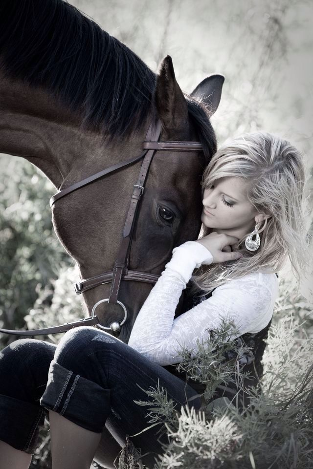 I want this to be my amazing senior pic. Only a true cowgirl can take a picture with a horse. But I'm sorry, a lot of girls who say they are country really aren't. But if this beautiful girl take a picture like this, than she is one true cowgirl. I might be young but I wasn't born yesterday. And btw whom ever took this picture they are one great photographer. Also who ever thought of way to take her senior picture than they need to post about there GREAT passion or what ever you want to call…