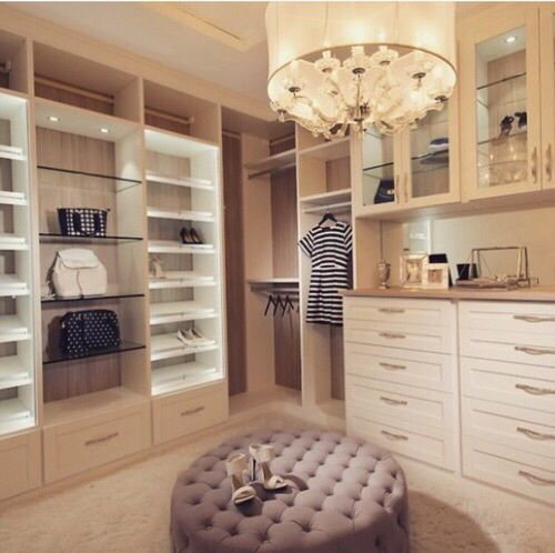 Love this! We need to combine the two walk in closets and make ours like this