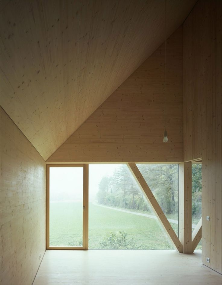 House in Balsthal / Pascal Flammer Architekten (love materiality and volume)