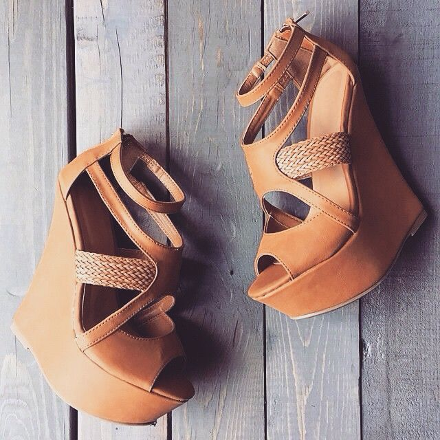 Nude Wedges - Shop Now