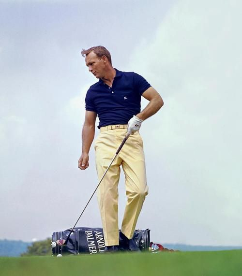 arnold palmer, golfing cool I Rock Bottom Golf #rockbottomgolf