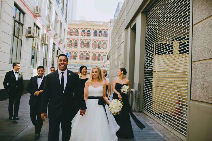 Auckland wedding - Downtown