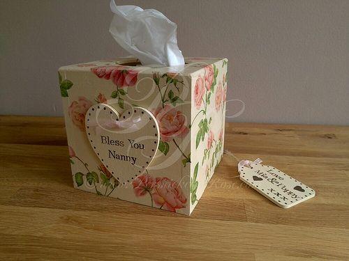 Personalised Tissue Box