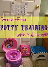 Training Pants, Potty Training, How to Potty Train, Pull-Ups.  Potty Charts.  Free printable Potty Training Sticker chart. Stress Free Potty Training - Free Printable Sticker Chart