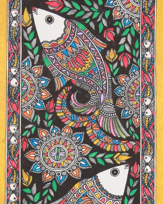 Design Decor & Disha: Indian Art: Madhubani Painting (Bihar)