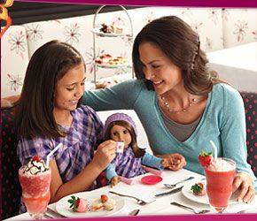 American Girl Place at Tyson's Corner. If you have a daughter this is a fabulous outing! The afternoon tea is a must.