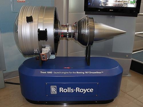 Rolls Royce Trent 1000 (Model)