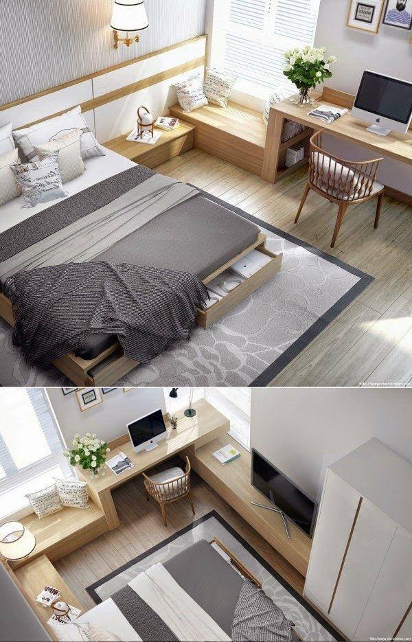 Diseño de Interiores & Arquitectura: 20 Modernos Diseños de Dormitorios Para Inspirarte