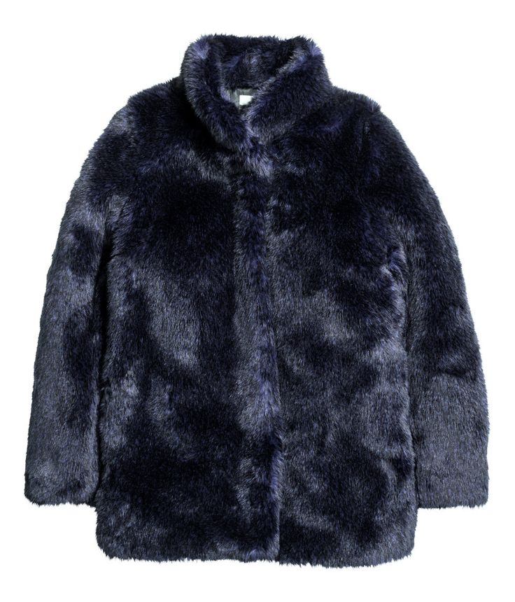 Faux Fur Jacket | Party in H&M