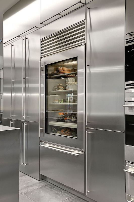 cozinha industrial geladeira em inox                                                                                                                                                      Mais