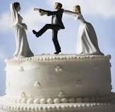 strange wedding cake