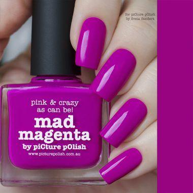 Nail Polish Mad Magenta