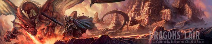 Dragons' lair banner by dleoblack.deviantart.com on @DeviantArt