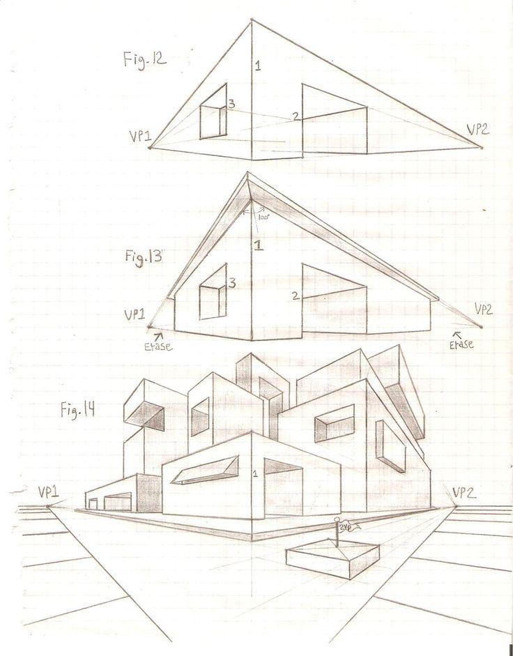 Perspective Tutorial: 2VP 4 by GriswaldTerrastone.deviantart.com on @deviantART