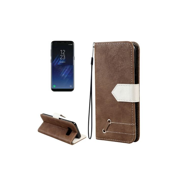 Samsung S8 Plus coque de protection retro rangment carte de credit
