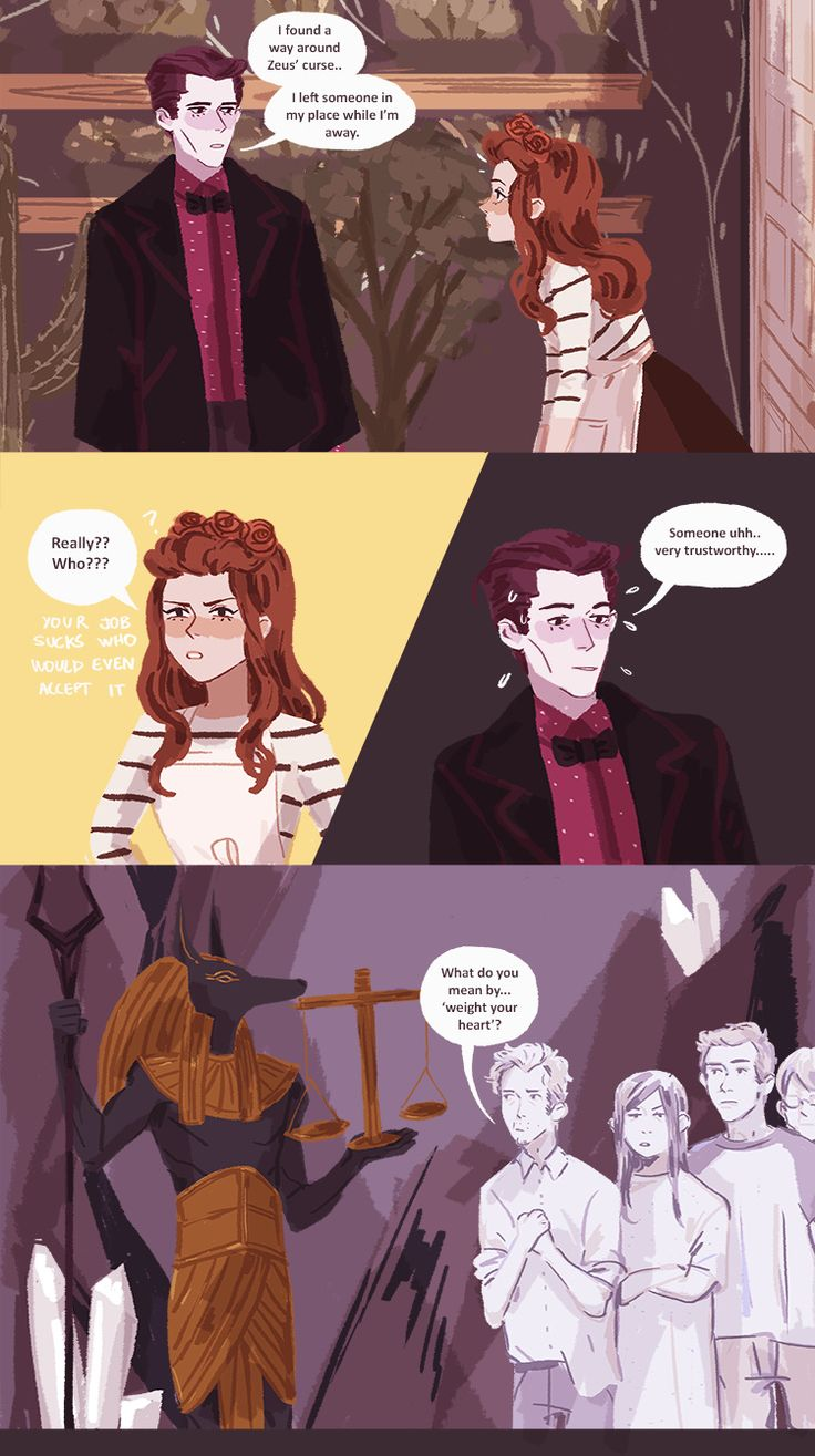 Hades and Persephone - Part 1. Page 15 - LOL I love the crossover between myths! Love this comic! :3 So cute!