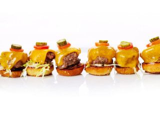 Entertaining recipes fit for a star: Mini Kobe Beef Burgers