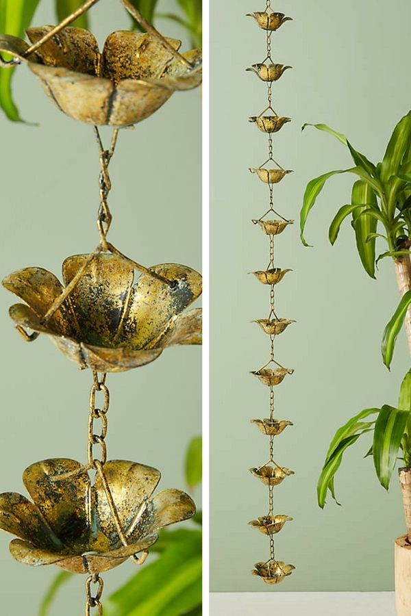 Anthropologie Favorites: Chimes. I would love this patina chime for my porch. I like the antique look. #ad