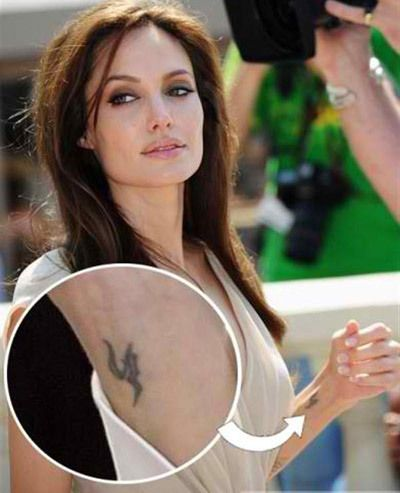 8 Stylish Angelina Jolie's Tattoos and Their Meanings