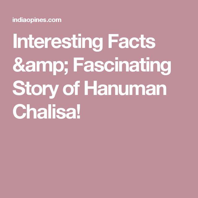 Interesting Facts & Fascinating Story of Hanuman Chalisa!
