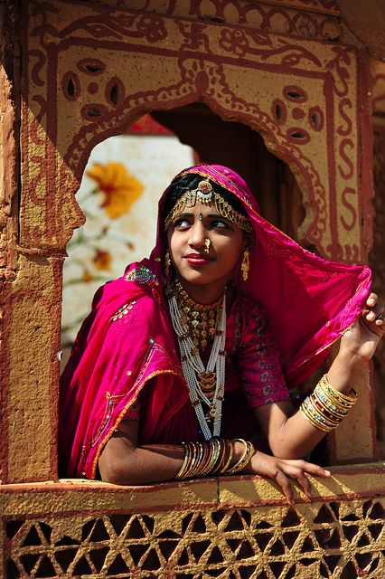 At the Desert Festival in Jaisalmer