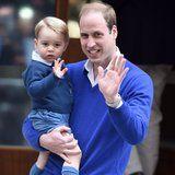El príncipe Guillermo Revela Lo que la Princesa Diana Hubiera Sido como una Abuela