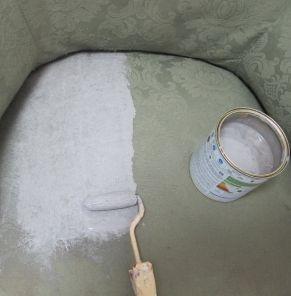 Peindre un fauteuil en tissu - Meubles et objets - Pure Sweet Home