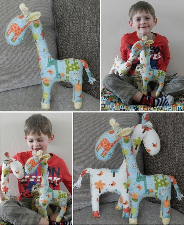 giraffe soft toy free tutorial pattern riley blake giraffe crossing #rileyblakedesigns #giraffecrossing