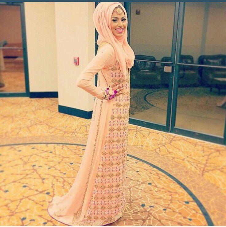 MashaAllah Beautiful dress.