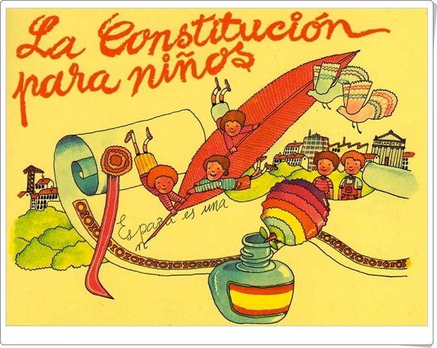 """""""La Constitución para niños"""" (Presentación para Educación Infantil y Primaria)"""