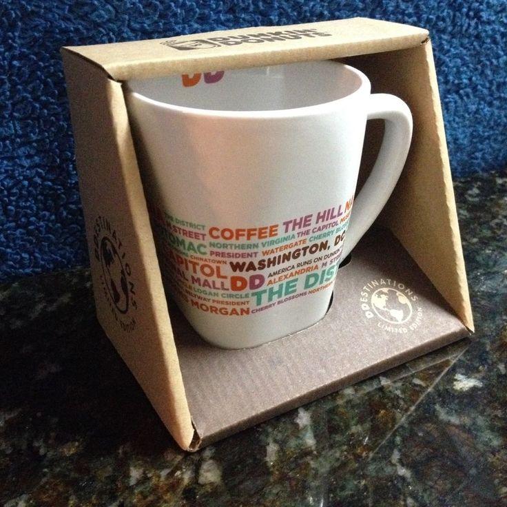 Dunkin Donuts Washington DC Mug DDestinations Location Coffee Cup 2016 #DunkinDonuts