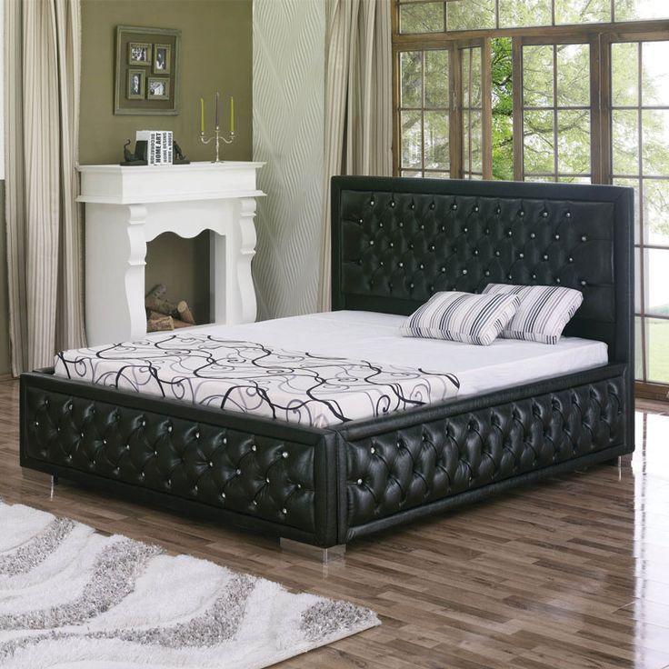 Oltre 1000 idee su lit coffre su pinterest lit coffre 140x190 letti estrai - Lit capitonne 140x190 ...